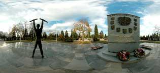 Austrian cemetery Ljubljana