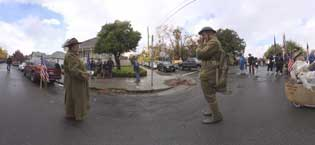Veterans Day Parade in Petaluma