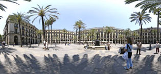 Plaça Real Barcelona